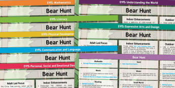EYFS Lesson Plan and Enhancement Ideas to Support Teaching on Bear Hunt - We're Going on a Bear Hunt, lesson plan, EYFS