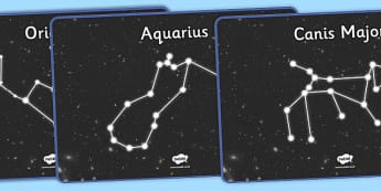 Constellations Display Posters - constellations, display posters, display, posters