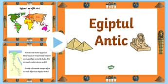Egiptul Antic - Prezentare PowerPoint