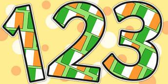 Ireland Display Numbers - ireland, countries, geography, display