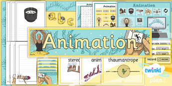 PlanIt - Computing Year 4 - Animation Unit Additional Resources - planit, computing, unit