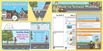 Walk to School Month Resource Pack