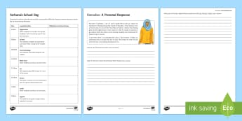 Ramadan Activity Sheets - Ramadan, fasting, hunger, food, jealous, proud, example of Prophet Muhammad, dedication, commitment,