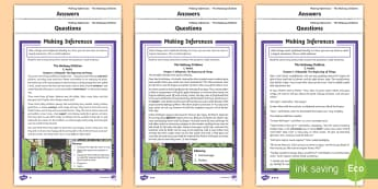 KS2 Father's Day Inference  Differentiated Activity Sheets - KS2, LKS2, UKS2, Y 5&6, Year five and six, Y 3&4, Year Three and Four, Key Stage Two, Key Stage 2, T
