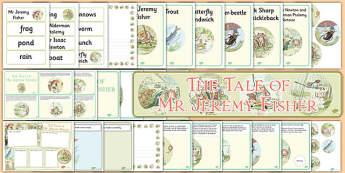 Beatrix Potter - The Tale of Mr Jeremy Fisher Resource Pack - beatrix potter, mr jeremy fisher