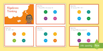 3rd Grade Operations and Algebraic Thinking Online Assessment Practice Activity - common core, online assessment, operations and algebraic thinking