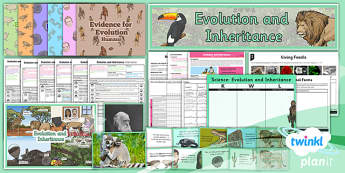 PlanIt - Science Year 6 - Evolution and Inheritance Unit Pack - planit, science, year 6, unit pack