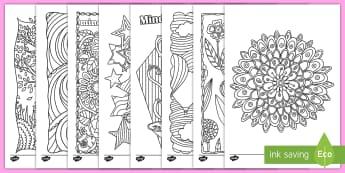 Hojas de colorear: Mindfulness - colorear, colorea, colores, pintar, hojas, color, mindfulness, relajarse, Spanish