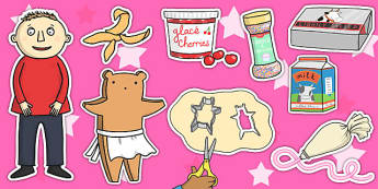 Story Cut Outs to Support Teaching on Biscuit Bear - Biscuit, bear, Puppets, Stick, Story