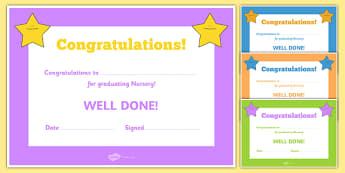 Editable End of Year Graduation Award Certificates - End of term, award, scroll, reward, award, certificate, medal, rewards, school reward