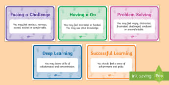 The Learning Pit Display Posters - Porter Croft, Displays, motivational, pastoral support, feelings, emotions, challenges