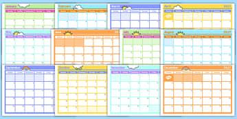 Monthly Calendar Planning Template 2017 - monthly, calendar, planning, template, 2016,calandar,calender2016,claendars,calemdar, calander, tempelte