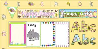 Easter Display Pack - Easter, lent, display, RE