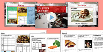 FDP Chomp Challenge - KS3, KS4, GCSE, Maths, Fractions, decimals, percentages, FDP, ratio, revision, test, assessment