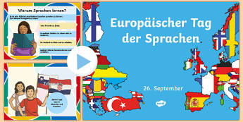 European Day of Languages PowerPoint