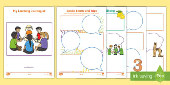Nursery Early Years Resource Pack - Requests CfE, nursery, learning journey, early years, care inspectorate.