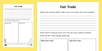 Fairtrade Activity Sheet - NI, Fairtrade Fortnight, 27/02/2017, before and after, fairtrade, fair trade, farming, coffee, rice,