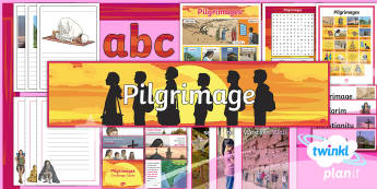 PlanIt RE Year 4 - Pilgrimages Additional Resources  - Religion, religious, pilgrimage, secular, journey, Hinduism, Christianity, Islam, Judaism, Buddhism,