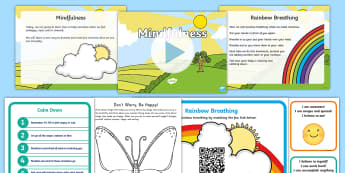 Mindfulness in the Classroom Resource Pack - Mindfulness in the classroom mindfulness activities, mindfulness teaching resources, meditation, bre