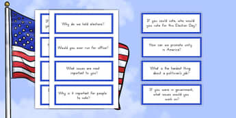 Presidential Election Day Writing Prompts