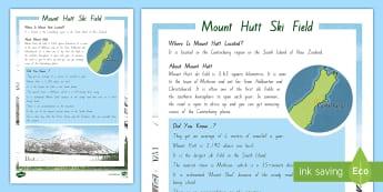 Mount Hutt Ski Field Fact File - New Zealand, Winter, Seasons, Snow, Skiing, Snowboarding, Mountains, Ski Fields, Snow Day, mount hut