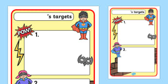 Themed Target Sheets Superheroes - Target Sheets, Themed Target Sheets, Hero Target Sheets, Hero Themed, Hero Themed Target Sheets, Superhero