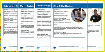 German Athletes Rio 2016 Fact File