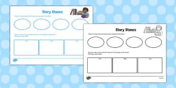 Story Stone Planning Sheet - story stone, planning, sheet, plan