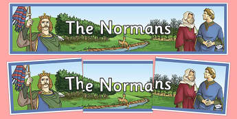 The Normans Display Banner - the normans, display banner, display, banner