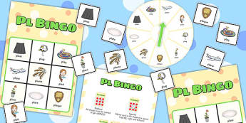 PL Spinner Bingo - pl, spinner bingo, spinner, bingo, game, activity, pl sound