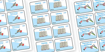 Foundation Stage Book Labels - EYFS, book label, label, subject labels, exercise book, workbook labels, textbook labels