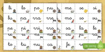 Tarjetas de sílabas: Los piratas  - Los piratas, proyecto, transcurricular, el mar, barcos, primeras, lecto, leer, lectura,Spanish