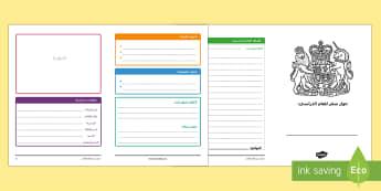 نموذج كتابة جواز سفر للسنة القادمة  - جواز سفر، مرحلة انتقالية، التعبير، الكتابة، تقرير، تد