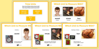 Maths Intervention Time Unit Posters - SEN, special needs, intervention, maths, measure, time