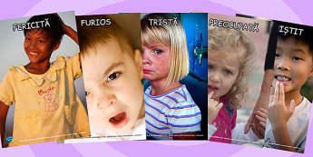Emotiile Noastre, Fotografii - despre noi, emotiile copiilor , Romanian