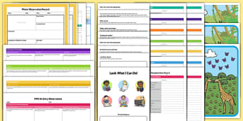 EYFS Bumper On Entry Assessment Pack - baseline assessment, eyfs, on entry, assessment, pack