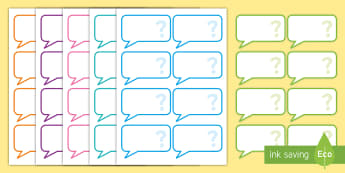 AF Guided Reading Blank Question Cards - assessment focus, assessment focus reading, reading, assessment focus cards, editable assessment focus cards, AF