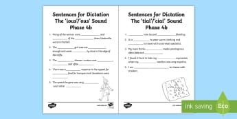 NI Literacy Linguistic Phonics Stage 5 and 6, Phase 4b Activity Sheets - NI, Linguistic Phonics, Stage 5, Stage 6, Phase 4b, Northern Ireland, sentences, dictation, words, w