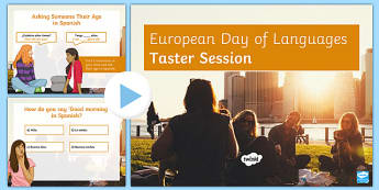 European Day of Languages Spanish Language Taster Session