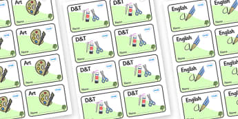 Sycamore Themed Editable Book Labels - Themed Book label, label, subject labels, exercise book, workbook labels, textbook labels