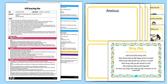 EYFS My Emotions Sorting Busy Bag Plan and Resource Pack