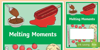 Melting Moments Year 3 Chemical Sciences Editable Book Cover - primary connections, Grade 3, Australian Curriculum chemical science, science journal, science front