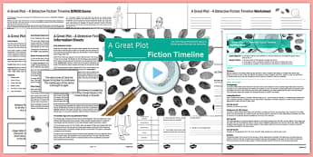 A Great Plot: A Detective Fiction Timeline Lesson Pack - a great plot, detective, fiction, timeline