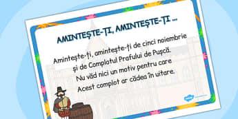 Aminteste-ti, Aminteste-ti … - poezie, engleza, cultura , Romanian