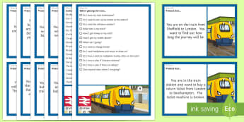 Catching a Train   Scenarios and Social Scripts