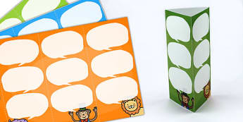 Animal Themed Standing Tabletop Targets - animals, animal themed, table targets, targets, class targets, themed targets, table top, animal targets
