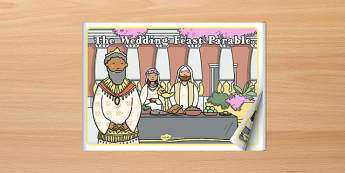 The Wedding Feast Parable eBook - parables, ebook, wedding feast