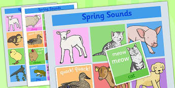 Animal Sounds Activity Pack - animal, sounds, activity, pack