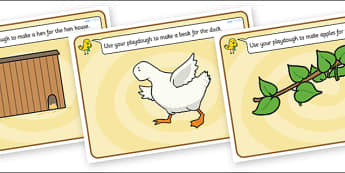 Farmer Duck Playdough Mats - farmer duck, playdough mats, play dough mats, play doh mats, playdough, play doh, fine motor skills, farmer duck mat