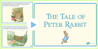 The Tale of Peter Rabbit PowerPoint - The Tale of Peter Rabbit Powerpoint - peter rabbit, powerpoint, pp, ppt, EYFS, beatrix potter, tradi